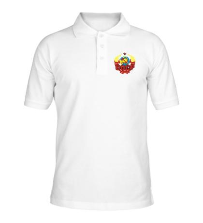 Рубашка поло СССР символика