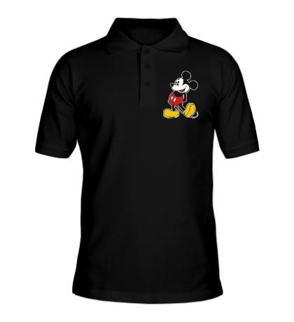 Рубашка поло Застенчивый Микки Маус