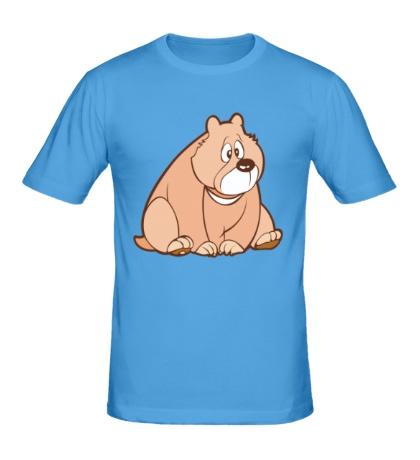 Мужская футболка Sweet bear