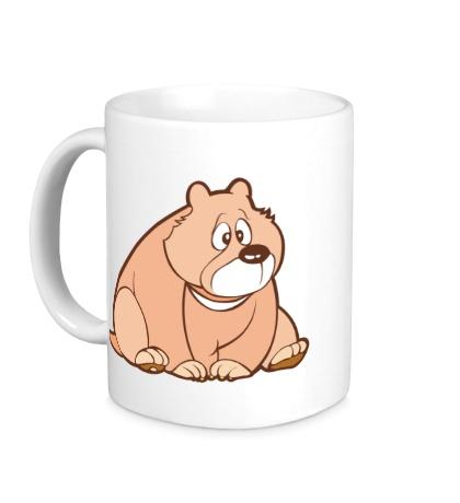 Керамическая кружка Sweet bear