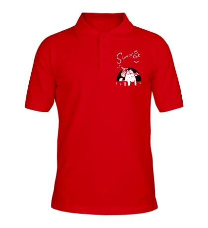 Рубашка поло Simons Cat Story