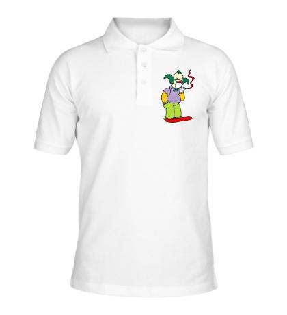 Рубашка поло Клоун Красти