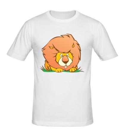 Мужская футболка Маленький львенок
