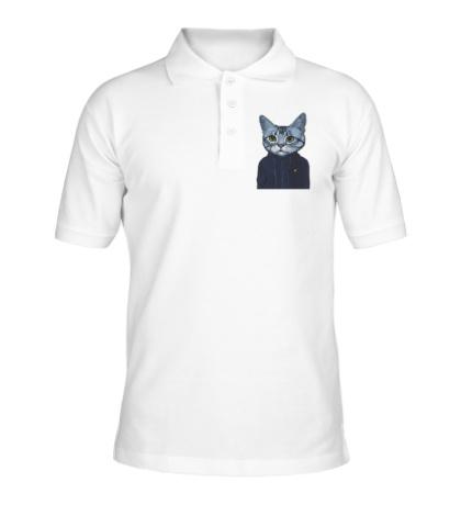 Рубашка поло Спортивный кот