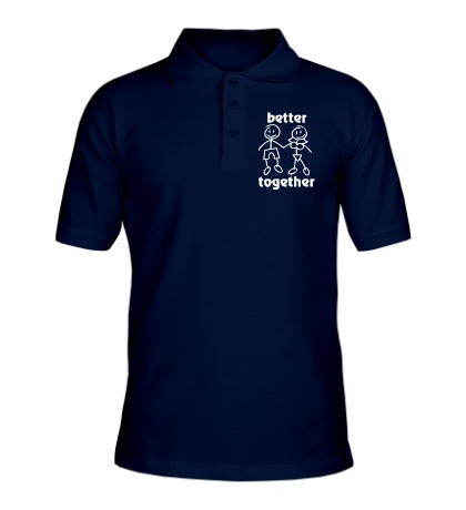 Рубашка поло Better together