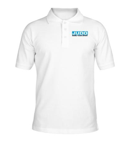 Рубашка поло Judo more then sport