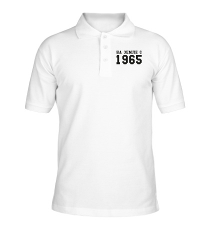 Рубашка поло На земле с 1965