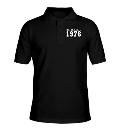 Рубашка поло На земле с 1976