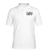 Рубашка поло На земле с 1977