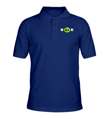 Рубашка поло Angry Birds: Pig Face