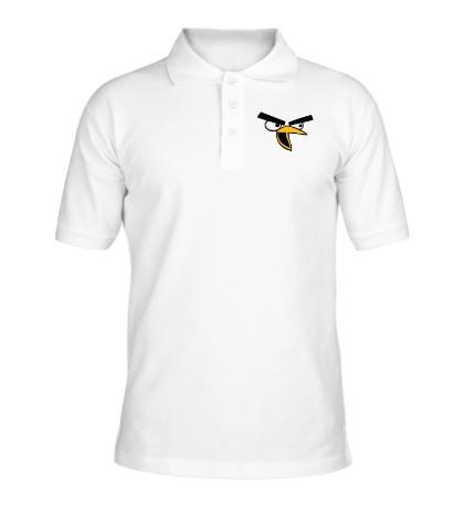 Рубашка поло Angry Birds: Chuck Face