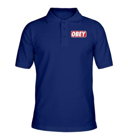 Рубашка поло Obey Sign