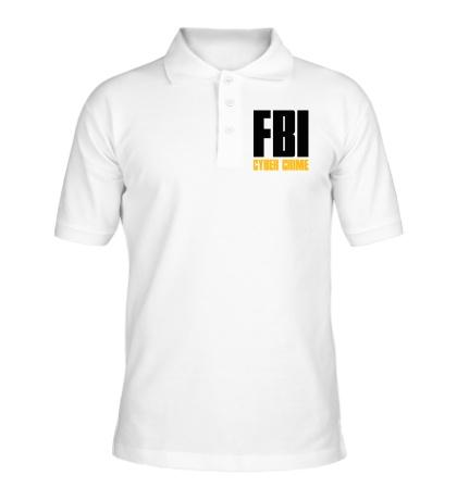 Рубашка поло FBI Cyber Crime