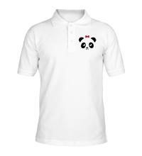 Рубашка поло Панда, для нее