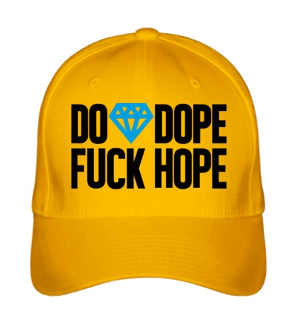 Бейсболка Do Dope Fuck Hope