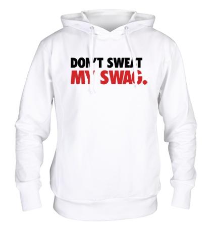 Толстовка с капюшоном Dont sweat my Swag