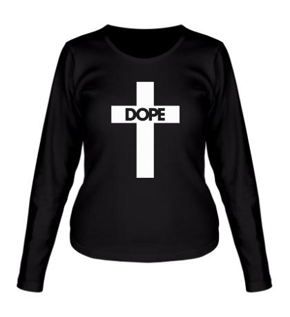 Женский лонгслив Dope Cross