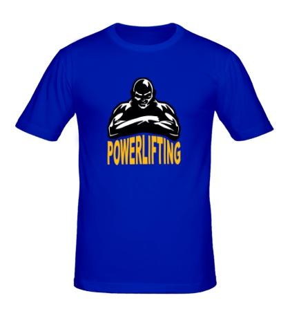 Мужская футболка Powerlifting Hard