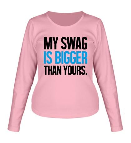 Женский лонгслив My Swag is Bigger