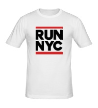 Мужская футболка Run NYC