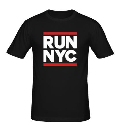 Мужская футболка «Run NYC»