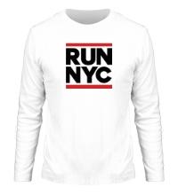 Мужской лонгслив Run NYC