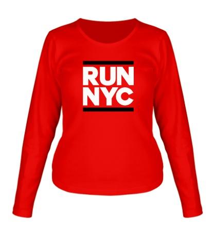 Женский лонгслив Run NYC