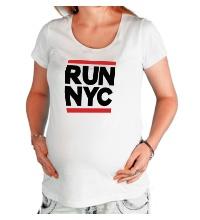 Футболка для беременной Run NYC