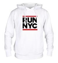Толстовка с капюшоном Run NYC