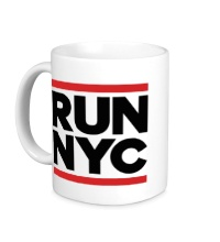 Керамическая кружка Run NYC