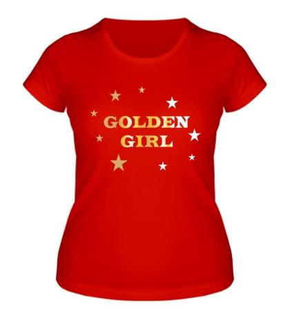 Женская футболка Golden Girl