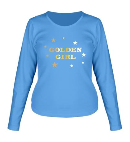 Женский лонгслив Golden Girl