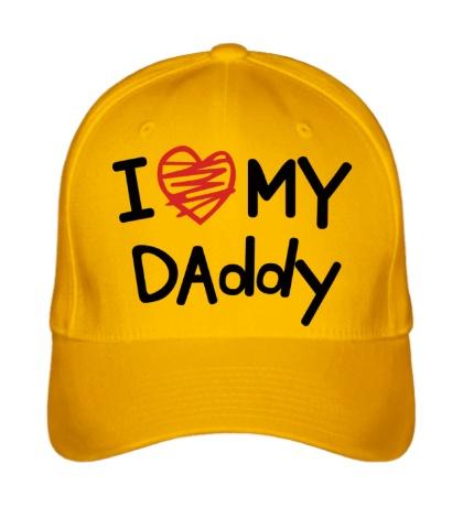 Бейсболка I love my Daddy