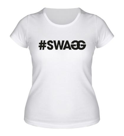 Женская футболка Swag Tag