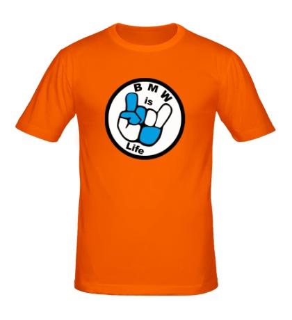 Мужская футболка BMW is Life