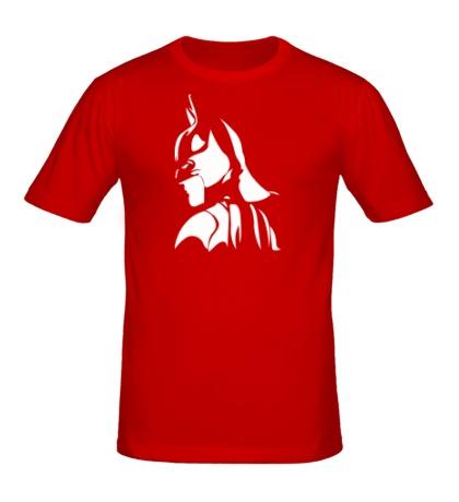 Мужская футболка Задумчивый Бэтман