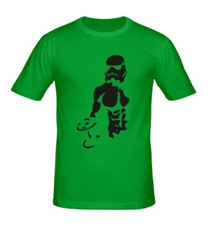Мужская футболка Штурмовик бодибилдер