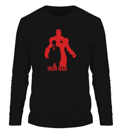 Мужской лонгслив Iron Man