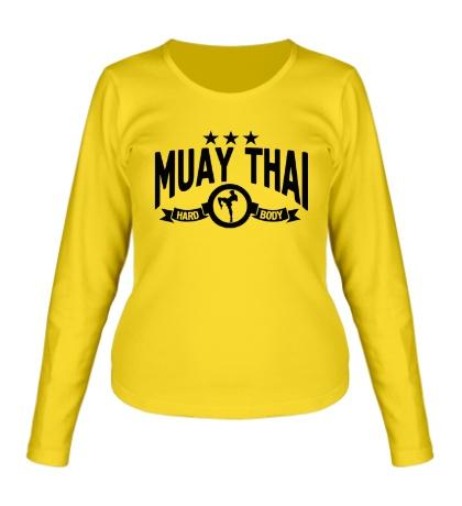 Женский лонгслив Muay Thai Hard Body
