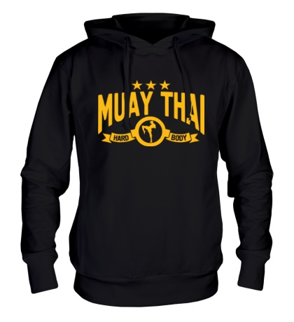 Толстовка с капюшоном Muay Thai Hard Body