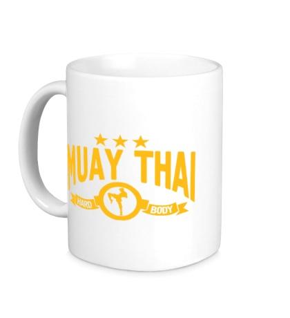 Керамическая кружка Muay Thai Hard Body