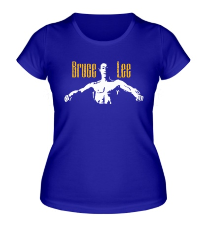 Женская футболка Bruce Lee Fighter