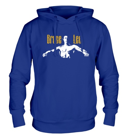 Толстовка с капюшоном Bruce Lee Fighter