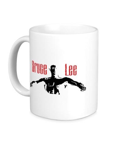 Керамическая кружка Bruce Lee Fighter