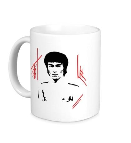 Керамическая кружка Bruce Lee: Dragon Warrior
