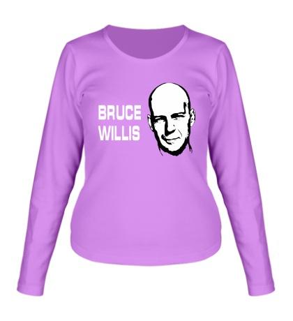 Женский лонгслив Bruce Willis