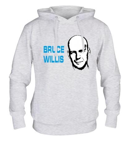 Толстовка с капюшоном Bruce Willis