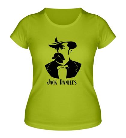 Женская футболка «Создатель Jack Daniels»