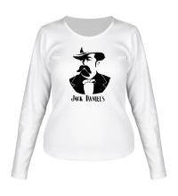 Женский лонгслив Создатель Jack Daniels