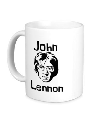 Керамическая кружка John Lennon